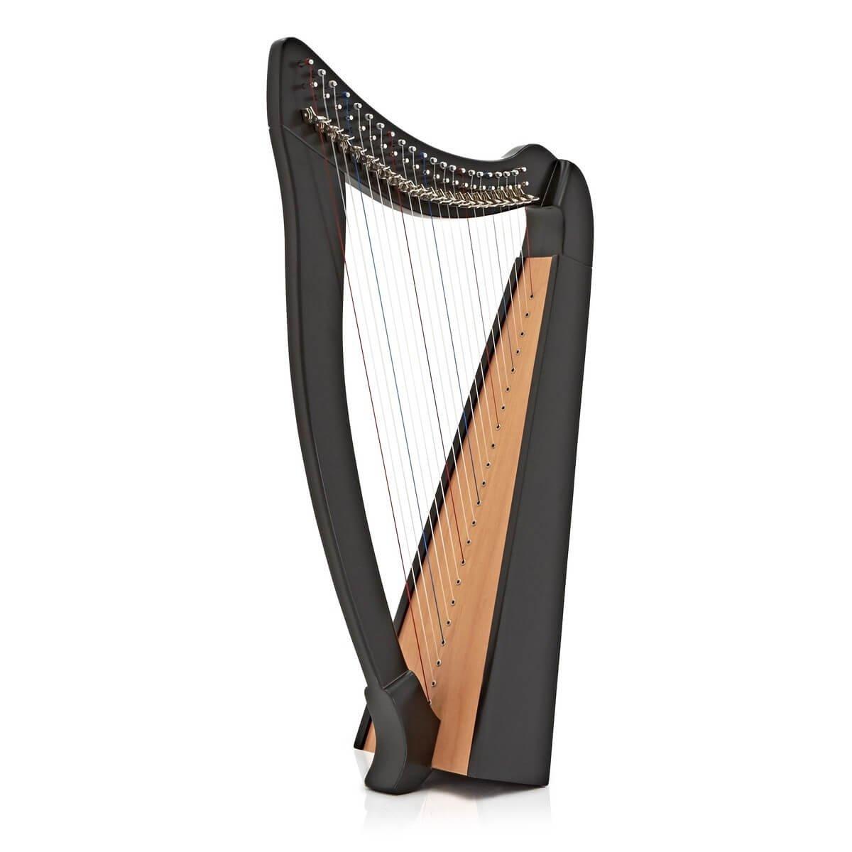 ROYAL HARPS Celtic Irish Lever Harp 22 Strings Free Deluxe Bag Extra Strings /& Tuning Key